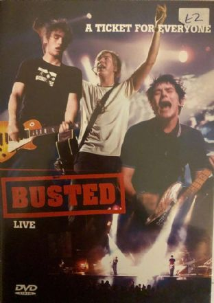Busted - A Ticket For Everyone: Busted Live (DVD)